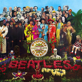 No.4 The Beatles - Sgt. Pepper's Lonely Hearts Club Band