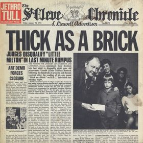 No.2 : Jethro Tull - Thick As A Brick