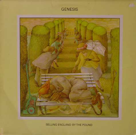 Genesis Lyrics - Selling England by the Pound